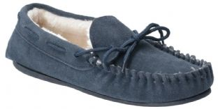Hush Puppies Allie Navy Suede Womens Slippers